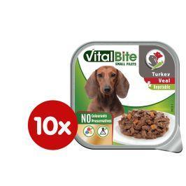 VitalBite Vanička ragou s telecím, krůtím a zeleninou 10 x 150 g