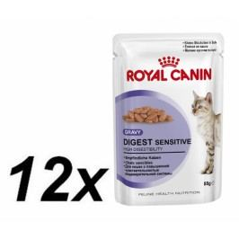 Royal Canin Digest SENSITIVE 9 kapsička 12 x 85g
