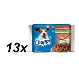 Chappi kapsičky multipack 13 x ( 4 x 100g )
