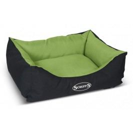 Scruffs Expedition Box Bed limetkový vel. S