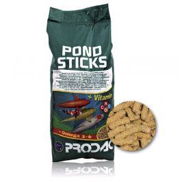 Krmivo pro okrasné ryby - Prodac Pondsticks 1kg