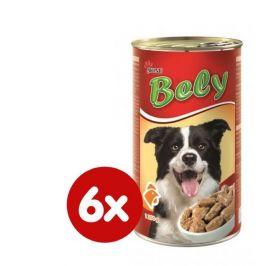 Akinu Bely kousky v omáčce s drůbežím pro psy 6 x 1250g