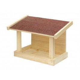 Krmítko dřevěné - Jednostranné