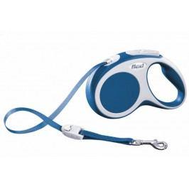 Flexi vodítko Vario S pásek 5m/15kg modré
