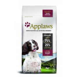 Applaws Dog Adult Small & Medium Breed Chicken & Lamb 2kg