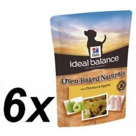 Hill's Ideal Balance Oven-Baked Naturals pamlsky s kuřetem a jablky 6 x 227 g