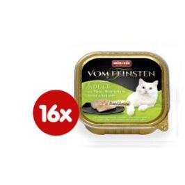 Animonda V.Feinsten CORE krůta, kuřecí prsa + bylinky pro kočky 16 x 100g