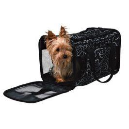 Trixie nylonová přepravní taška kostičky