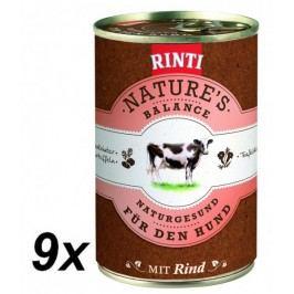 Rinti Nature´s Balance hovězí+brambory+vejce 9 x 400g