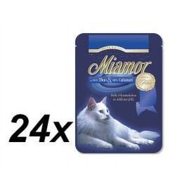 Finnern Kapsička Miamor Filet tuňák + kalamáry 24 x 100g