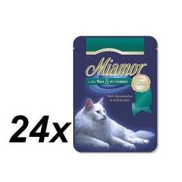 Finnern Kapsička Miamor Filet tuňák + zelenina 24 x 100g