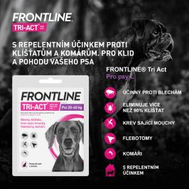 Merial Frontline TRI-ACT spot on Dog L 4 ml