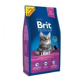 Brit Premium Cat Light 8 + 1,5 kg Zdarma