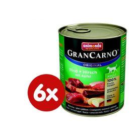 Animonda Grancarmo Adult - jelení maso + jablka 6 x 800g
