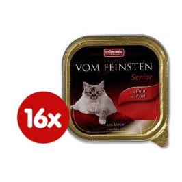 Animonda Vom Feinstein cat senior hovězí  1 6x 100g