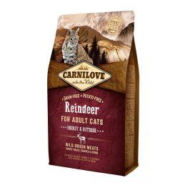 Žrádlo pro kočky - Carnilove Reindeer for Adult Cats – Energy & Outdoor 2 kg