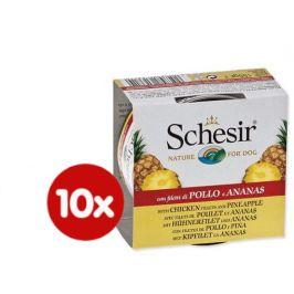 Schesir Konzerva Dog Fruit kuřecí + ananas 10 x 150 g
