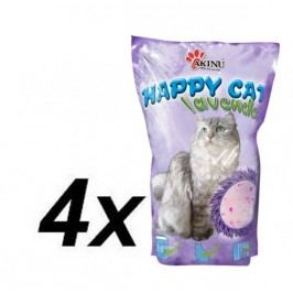 Akinu HAPPY CAT Lavender 4 x 3,6 L