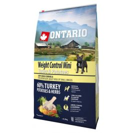 Ontario Mini Weight Control Turkey & Potatoes 6,5kg