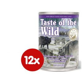 Taste of the Wild Sierra konzerva 12 x 390g