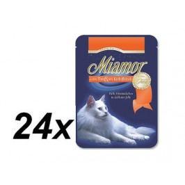 Finnern Kapsička Miamor Filet tuňák + krab 24 x 100g