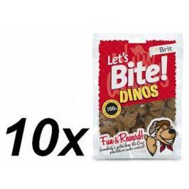 Brit Lets Bite Dinos 10x150 g