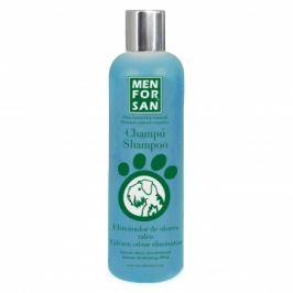Menforsan Přírodní šampon s vůní pudru eliminující zápach srst