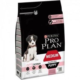 Purina Pro Plan Medium Puppy OPTIDERMA pro citlivou kůži 3kg