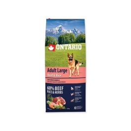 Ontario Adult Large Beef & Turkey 12kg