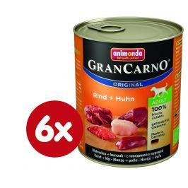 Animonda GranCarno hovězí + kuře 6 x 400g