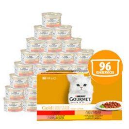 Gourmet Gold Multipack 12x(8x85g) - kousky ve šťávě se zeleninou
