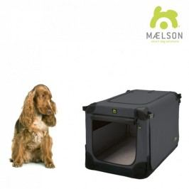 Maelson Přepravka Soft Kennel černá / antracitová vel. 72