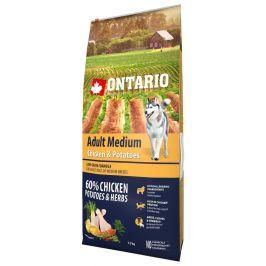 Ontario Adult Medium Chicken & Potatoes 12kg