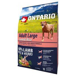 Ontario Adult Large Lamb & Rice 2,25kg