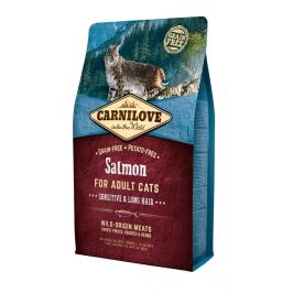 Carnilove Salmon for Adult Cats – Sensitive & Long Hair 2 kg