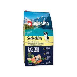 Ontario Senior Mini 7 Fish & Rice 6,5kg