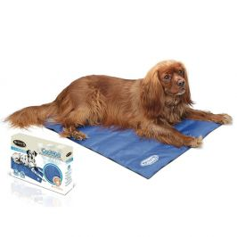 Scruffs Self-Cooling Mat modrá vel. M