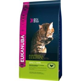 Eukanuba Cat Adult Hairball Control Chicken 4 Kg