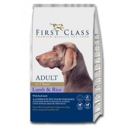 First Class Dog Adult Lamb & Rice 12kg