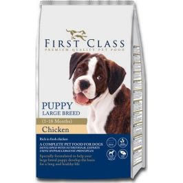 First Class Dog Puppy Large Breed 12kg