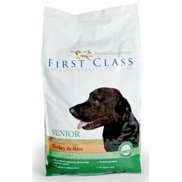 First Class Dog Senior HA Turkey & Rice 12kg