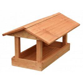 Krmítko dřevěné - Velké hnědé