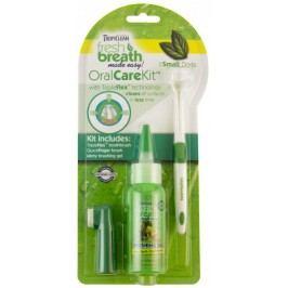 TropiClean Oral Kit Small – gel s kartáčky