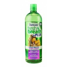 TropiClean Water Additive Hip & Joint roztok do vody s glukosaminem proti artróze 473 ml