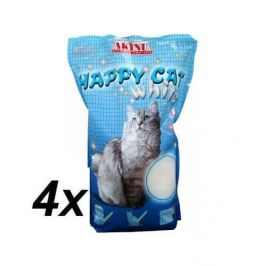 Akinu stelivo HAPPY CAT 4 x 3,6l White