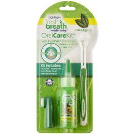 TropiClean Oral Kit Medium/Large – gel s kartáčky