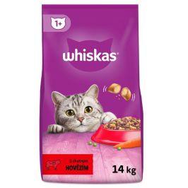 Whiskas granule s hovězím masem 14 kg
