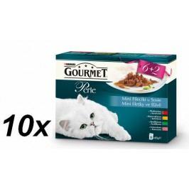 Gourmet Perle multipack mini filetky ve šťávě 10 x (8 x 85g)