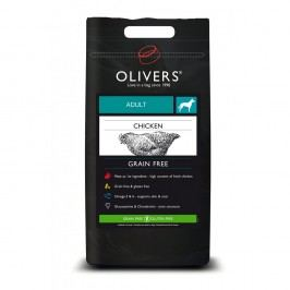 Olivers Adult Chicken Grain Free small, Balení 4 kg