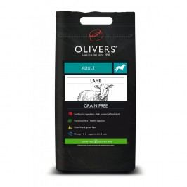 Olivers Adult Lamb Grain Free small, Balení 4 kg